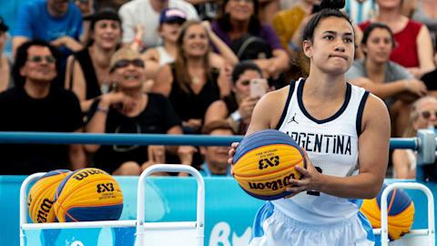 Final de concurso de mates y triples - Baloncesto 3x3 |JOJ Buenos Aires 2018