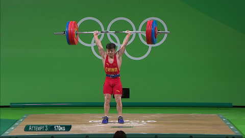 China's Long betters weightlifting world record