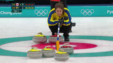CAN v SWE (Round Robin) - Men's Curling | PyeongChang 2018 Replays