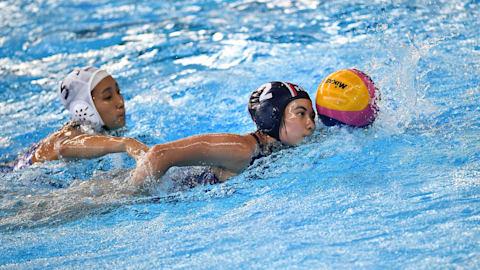 女子 - JPN vs ITA | 水球 - FINA世界選手権 - 光州