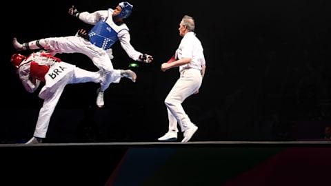 Finales +54-58kg, +46-49kg, +62-67kg|Taekwondo-Universiada de Verano-Nápoles