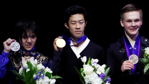 Nathan Chen, world champion