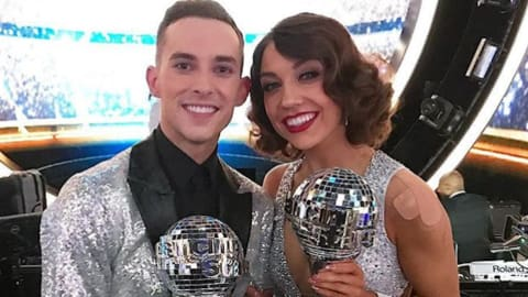 Olympic star Adam Rippon crowned 'Dancing with the Stars' winner