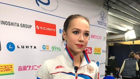 Alina Zagitova wins GP Helsinki