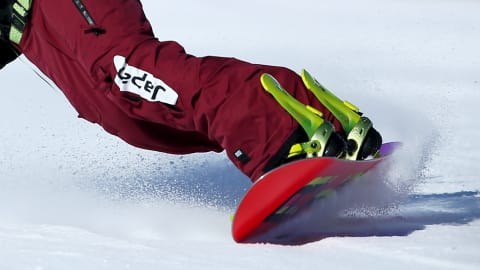 The differences between snowboards for slalom and snowboards for half-pipe