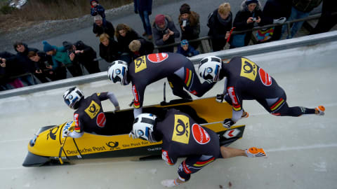 Bob à 4 - Manche 2 | Coupe du Monde IBSF Bobsleigh & Skeleton - Lake Placid