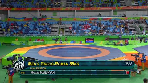 Viktor LORINCZ (HUN) df. Maksim MANUKYAN (ARM), 3-0