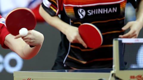 Damen & Herren Doppel Semis 1 | Tischtennis - Sommer-Universiade - Neapel