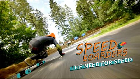 スピードを求めて - ダウンヒルスケートボード