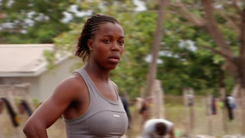 Veronica Campbell-Brown mit 18
