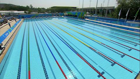 Modern Pentathlon: Women's Swimming   Rio 2016 Replays