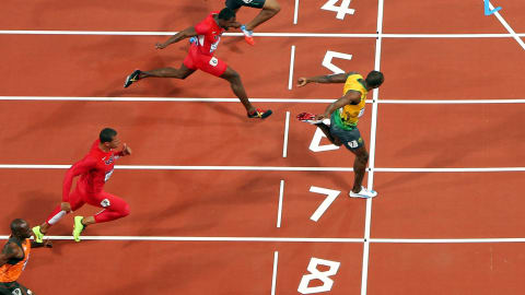London 2012 - Bolt wins the 100m final