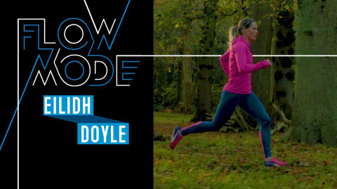 See how bronze medallist Eilidh Doyle goes off course to find her Flow Mode