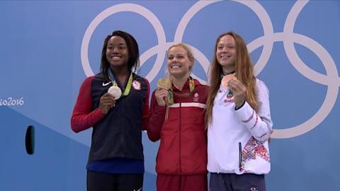 La danesa Blume gana el oro en los 50 metros estilo libre