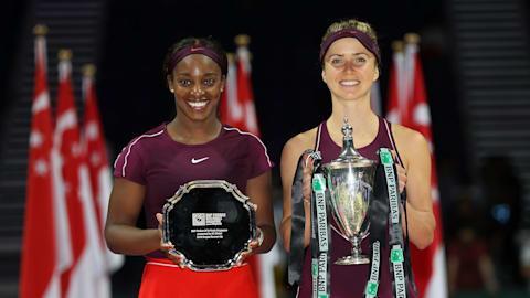 Elina Svitolina outguns Sloane Stephens to win WTA Finals