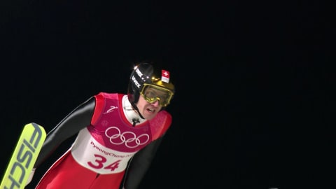 Men's Large Hill, Final - Ski Jumping | PyeongChang 2018 Replays