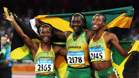 ジャマイカ勢が100mでメダル独占