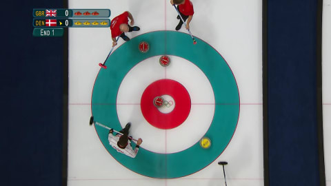 GBR v DEN (Poule) - Curling Hommes | Replay de PyeongChang