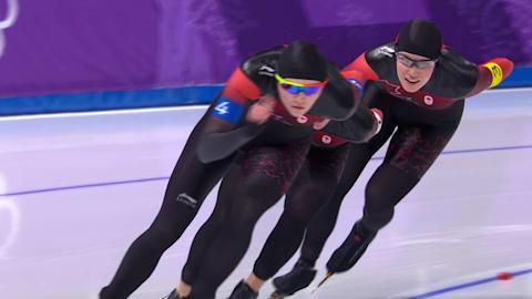 W Team Pursuit Bronze Medal Final - Speed Skating | PyeongChang 2018 Replays