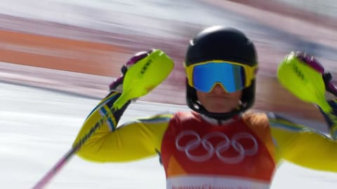 Hansdotter se lleva el oro en el eslalon femenino | Esquí Alpino