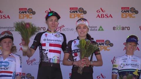 Radsport: 2018 Absa Cape Epic - Westkap, Südafrika. 4. Etappe