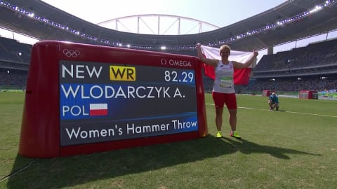 Poland's Wlordarczyk wins Women's Hammer gold