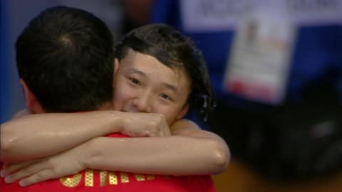 China's Shi wins Diving gold