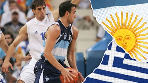 阿根廷vs希腊,4/1决赛 |2004年雅典奥运会回放