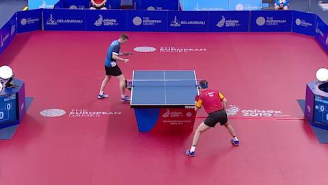 Herren Einzel Finals | Tischtennis - Europaspiele - Minsk