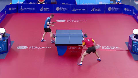 Men's Singles Finals | Table Tennis - European Games - Minsk