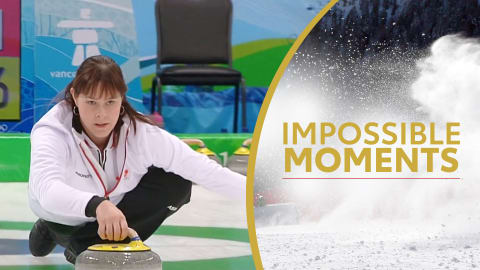 Kristie Moores olympischer Moment... mit Babybauch | Impossible Moments