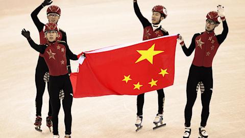 República Popular da China - Destaques Dourados de PyeongChang 2018