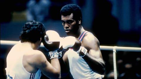 Cuba's Stevenson knocks out USA's Tate | Montreal 1976