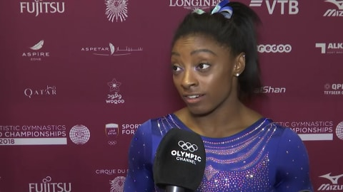 Simone Biles talks about her late-night hospital dash