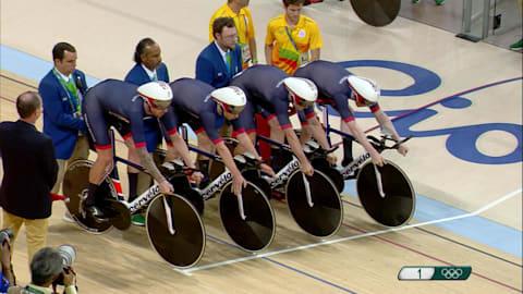ウィギンス率いるイギリスがチームパシュート金