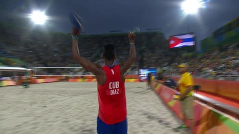 Cuban beach volleyball duo leave Rio crowd speechless