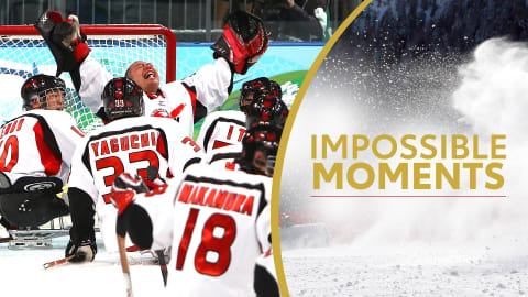 Japan Para Ice Hockey Team Never Gives Up | Impossible Moments