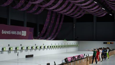 Пневматический пистолет 10 м, женщины – Стрельба | ЮОИ-2018 в Буэнос-Айресе