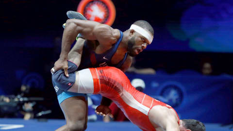 Jordan Burroughs aims to join wrestling greats in Budapest