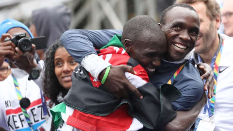 Kamworor inspired by Kipchoge ahead of NYC Marathon repeat bid