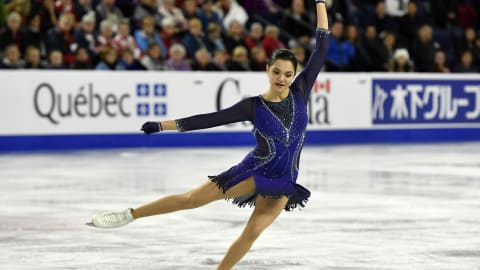 Last chance for Evgenia Medvedeva to make ISU Grand Prix Final