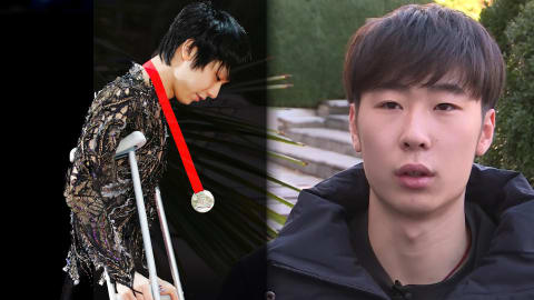 China's Jin Boyang empathises with Yuzuru Hanyu over injury