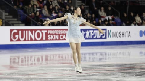 Kihira breaks ladies world record at Grand Prix Final as Chen leads men after short program