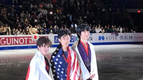 Nathan Chen wins Grand Prix Final in Vancouver