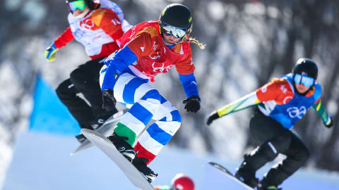 Michela Moioli: From crashing out to fairy-tale gold in PyeongChang