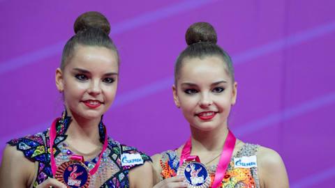 Golden twins Dina and Arina Averina share secret to their success