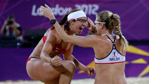 Walsh Jennings and May-Treanor complete hat-trick at London 2012