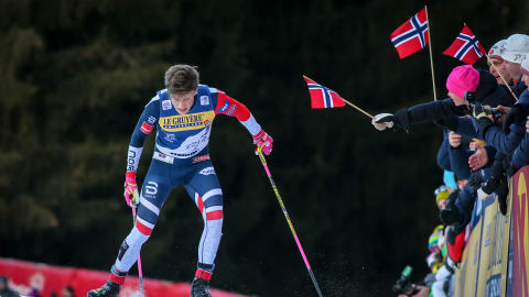 Klaebo digs deep to claim first Tour de Ski title