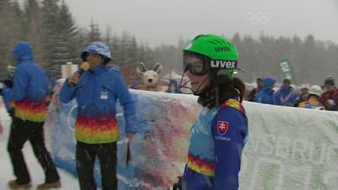 プレイバック:ペトラ・ブルホバがYOGインスブルック2012回転で金