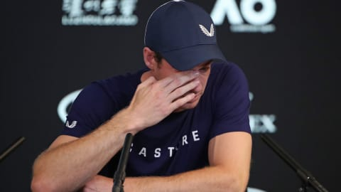 Andy Murray in tears: the 2019 Australian Open could be his last tournament